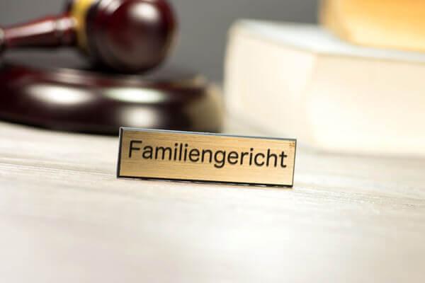 Familiengericht - Unterhalt